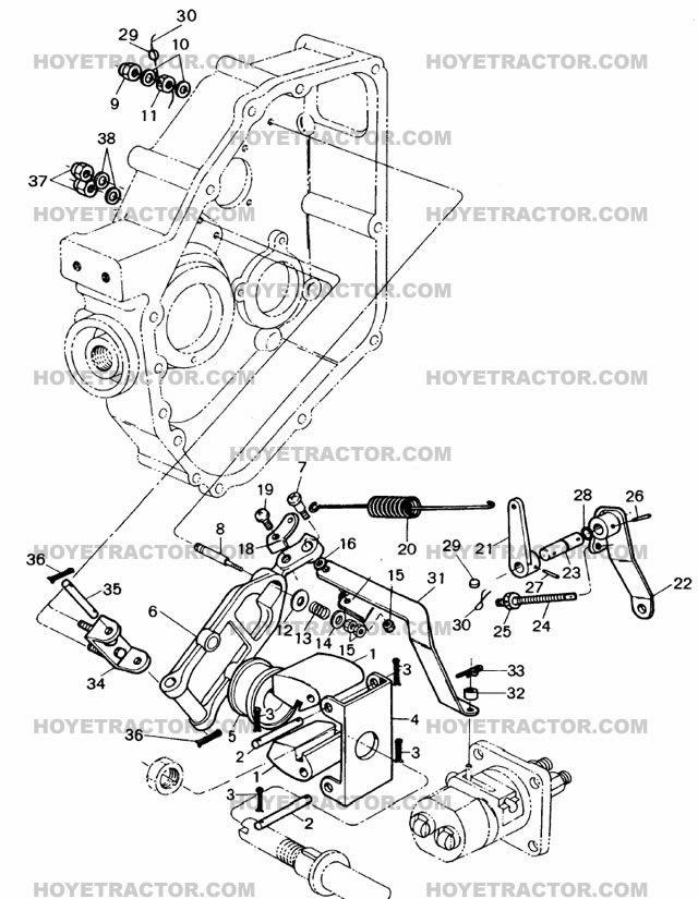 yanmar tractor parts governor tractors pinterest tractor rh pinterest com Ford 2000 Tractor Wiring Harness John Deere Tractor Wiring