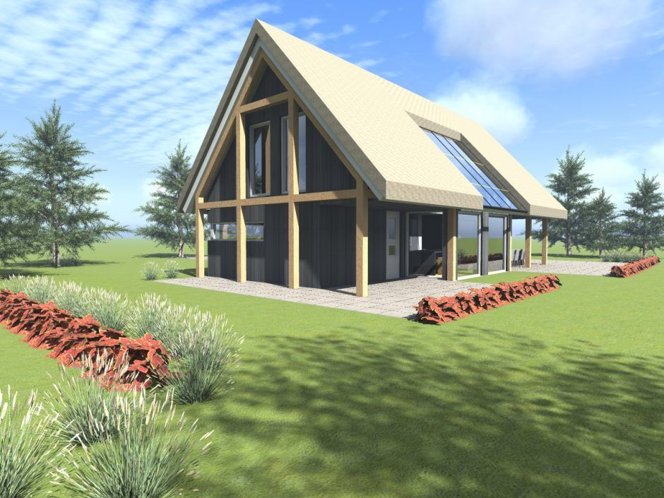 Schuurwoning nr1 @ Ameland - Plan de maison Pinterest