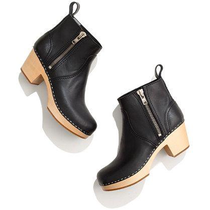ugh... I want.  Swedish Hasbeens® 877 Zip It Emy Boots