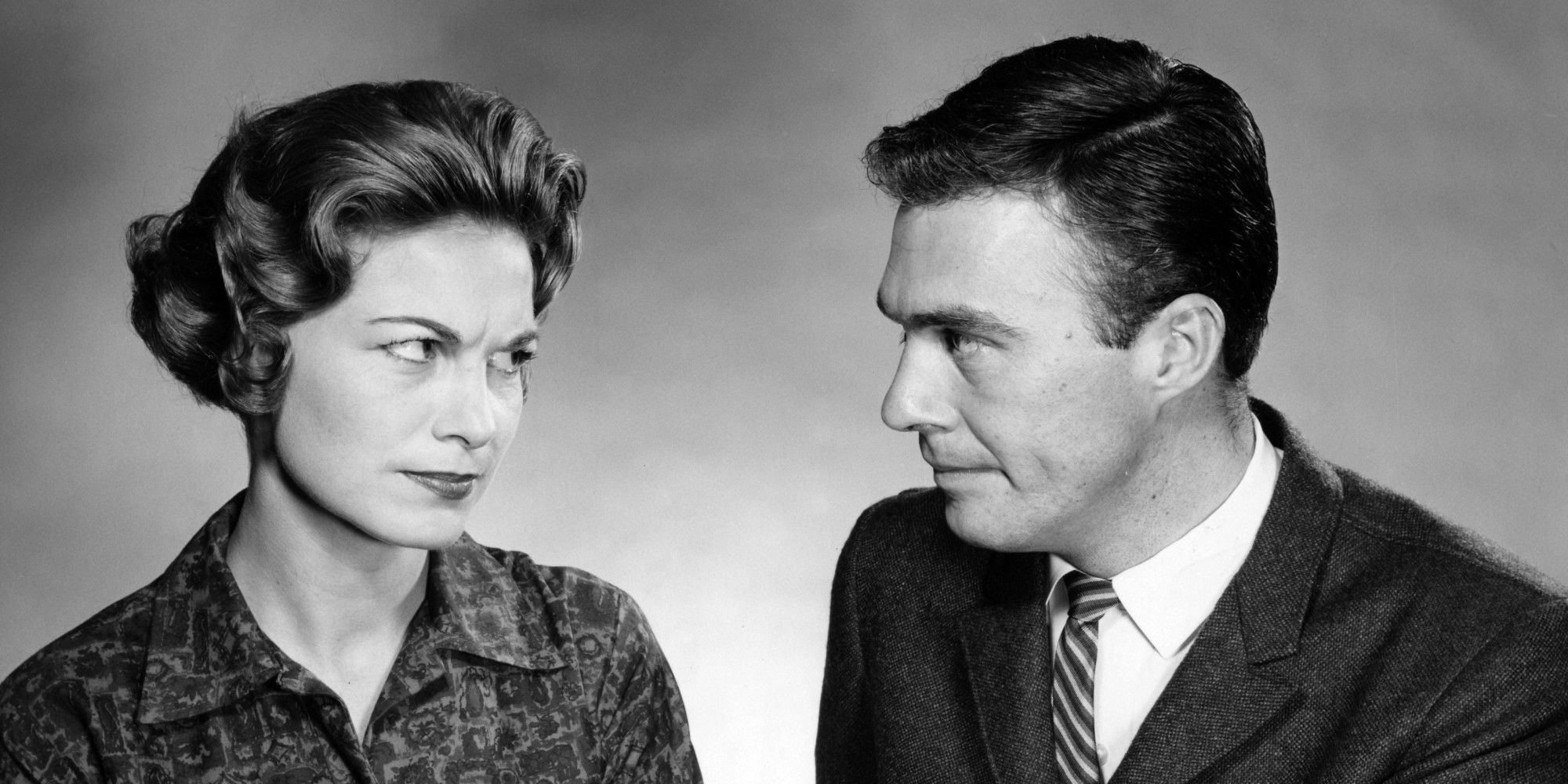 1950's man and woman ile ilgili görsel sonucu