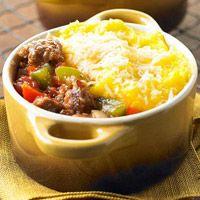 Polenta and Sausage Pies | Recipe | Sausage pie, Italian sausages and ...