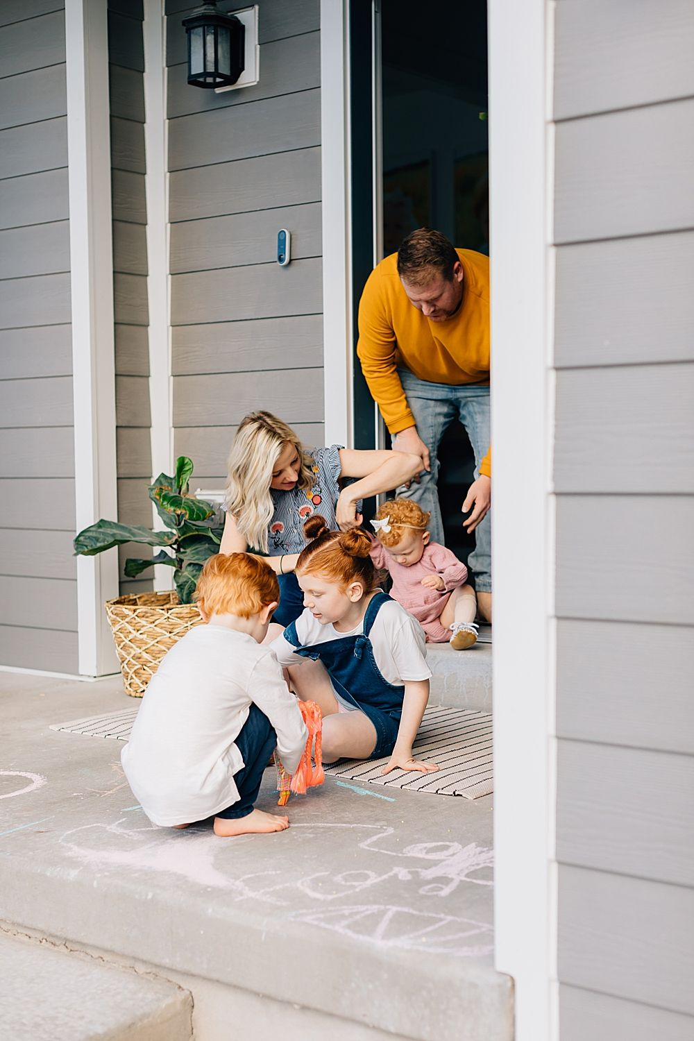 Truly Front Porch Series The Walker Family Herriman