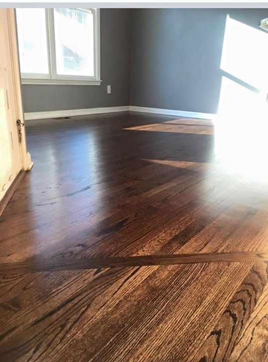 Famous Minwax Dark Walnut stain with oil based satin polyurethanethat's  KJ23
