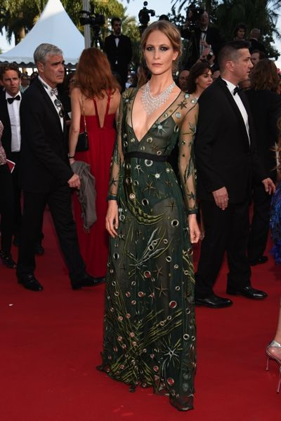 Poppy Delevingne in Burberry Prorsum - Cannes 2015