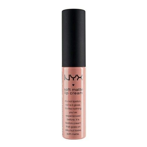 nyx matte lip cream in stockholm. My fav matte lip color: I LOVE this lip color either on it's own or with NYC Creme Brulee Butter Gloss over top. Love it.