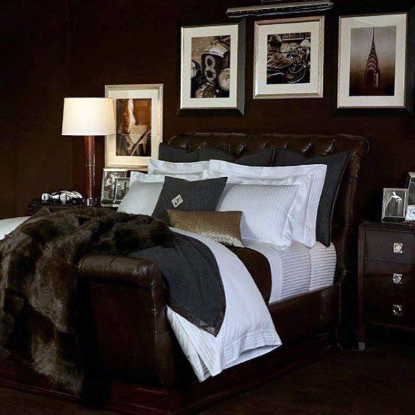 80 Bachelor Pad Men S Bedroom Ideas Manly Interior Design Mens Bedroom Decor Bedroom Decor Design Home Decor Bedroom
