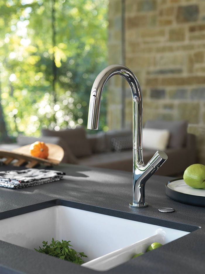 Find order in lifeu0027s chaos with Frankeu0027s smooth lines and tranquil - grohe concetto küchenarmatur