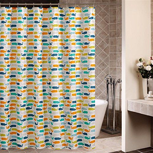 Whale Shower Curtain Bathroom Pinterest Whales Shower