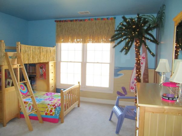 Tween Girls Beach Bedrooms