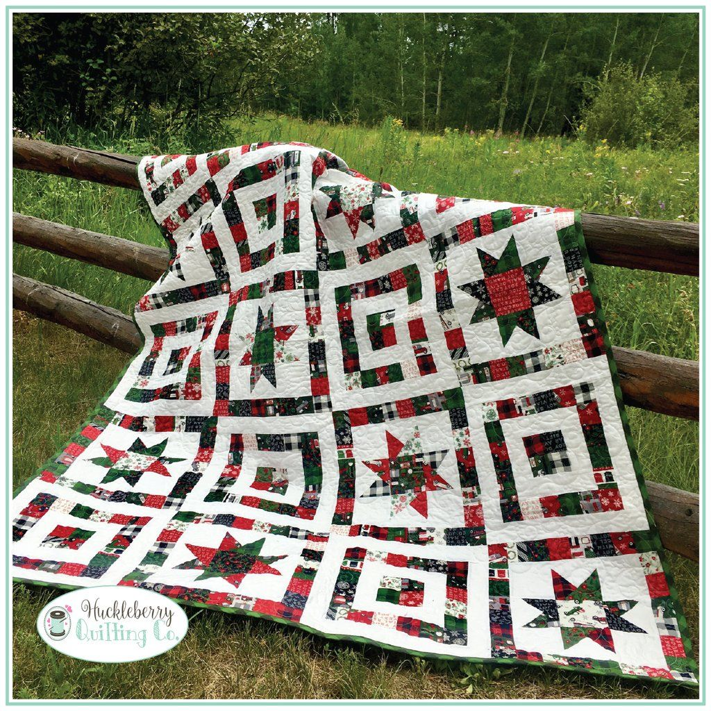 Riley Blake Country Christmas Quilt kit