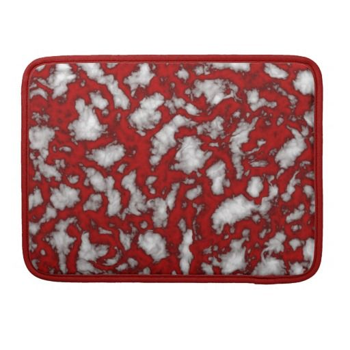 Bloody Marble MacBook Pro Sleeve #zazzle