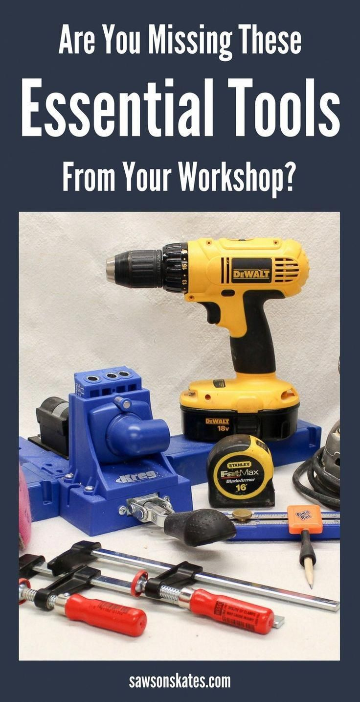 Are you missing these musthave woodworking tools needed