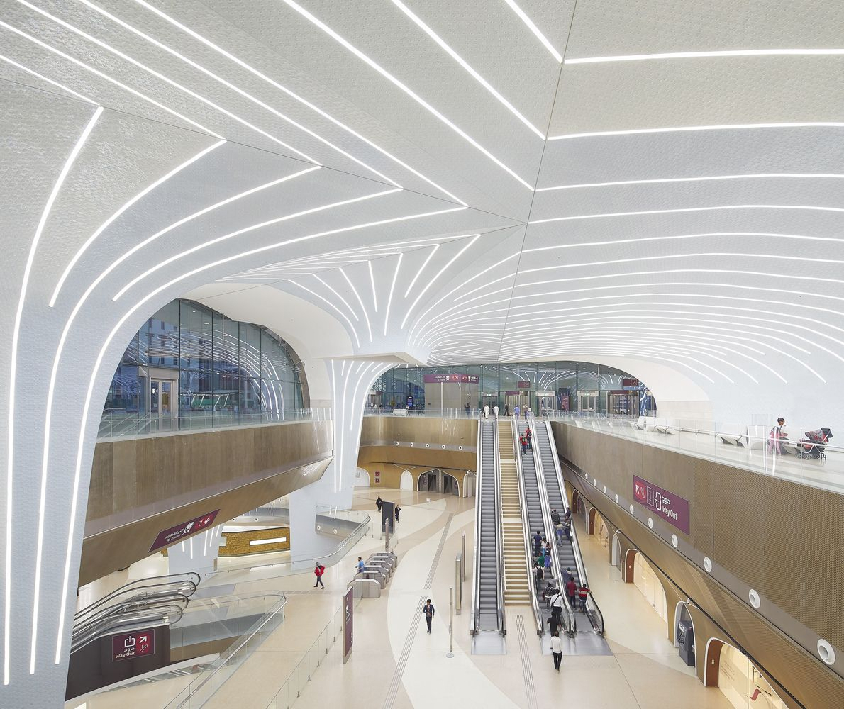 Gallery of UNStudio Completes First 37 Stations on the Doha Metro Network, in Qatar - 12