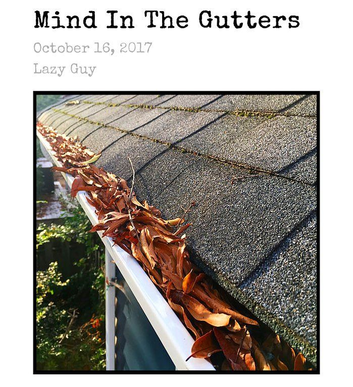 New Post On The Site From Gutter Cleaning To Gutter Repair To Just Plain Putting Your Gutters On Lockdown C With Images Gutter Repair Cleaning Gutters Gutters