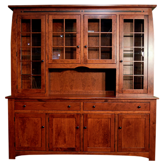 Gallery Of Dining Room Hutches | Galena Dining Room Hutch Front   Amish  Furniture Gallery .