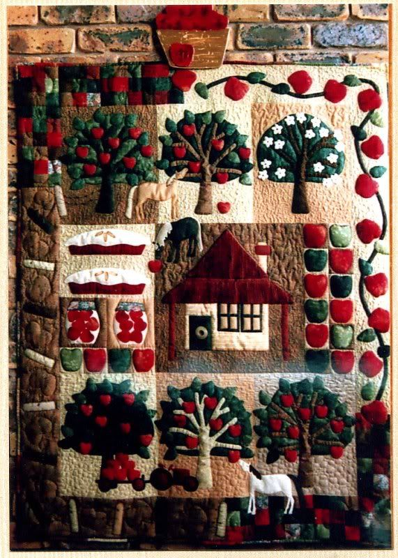 Apple Tree Farm | Quilts and quilting | Pinterest | Apple tree ... : apple tree quilting - Adamdwight.com