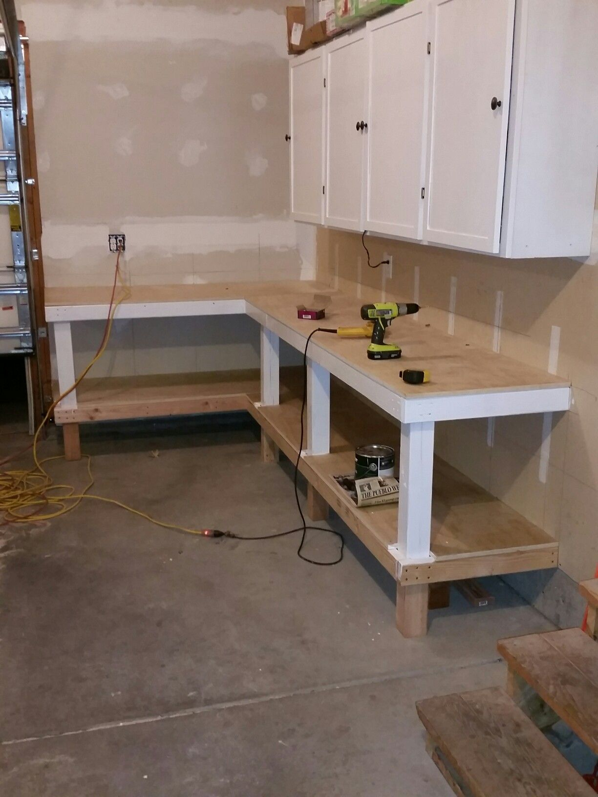 Workbench finished