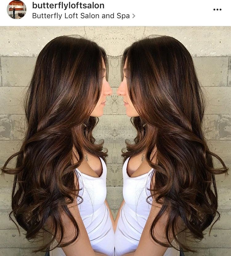 Beautiful Chocolate Brown Hair Color Hair Beauty That I Love In