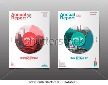 annual report future business template layout design cover book