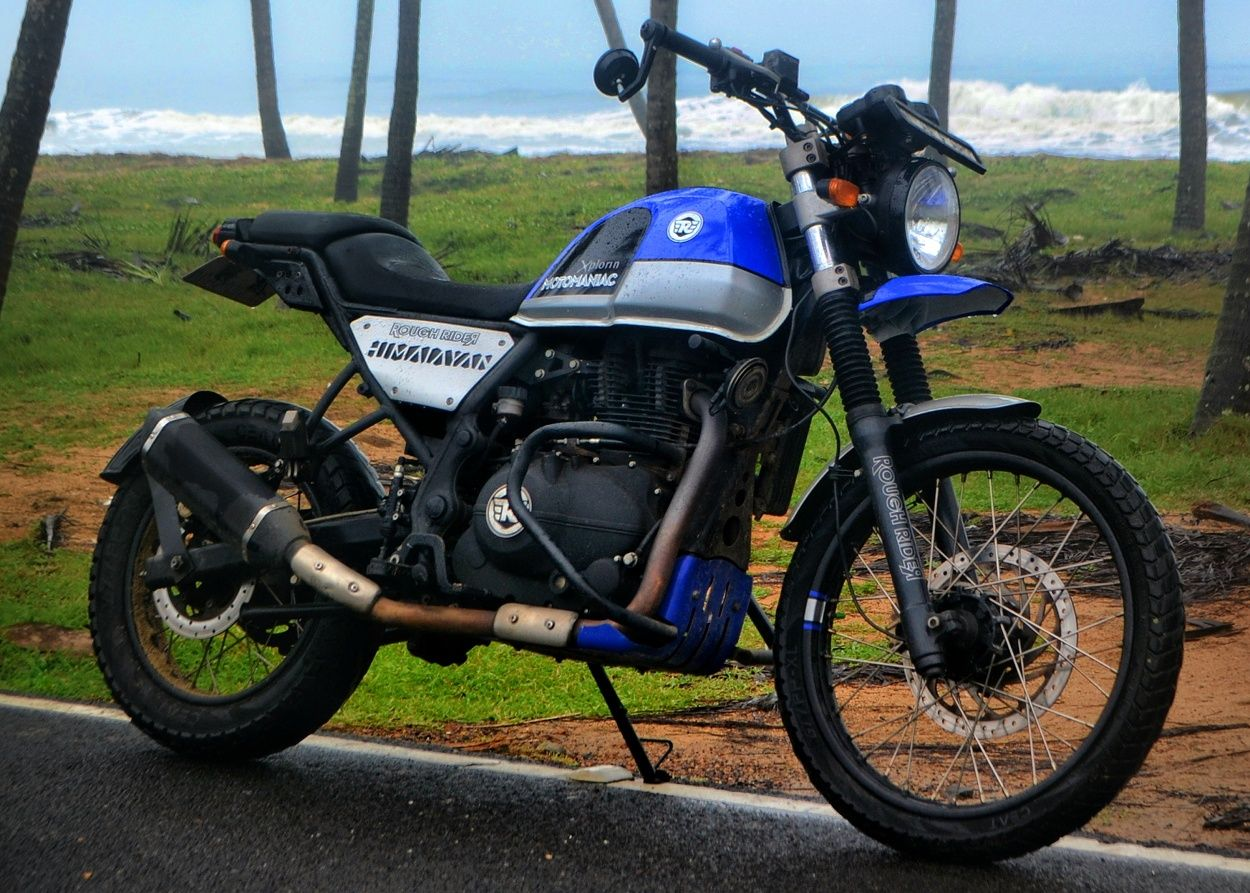 Royal enfield himalayan street tracker by rough rider