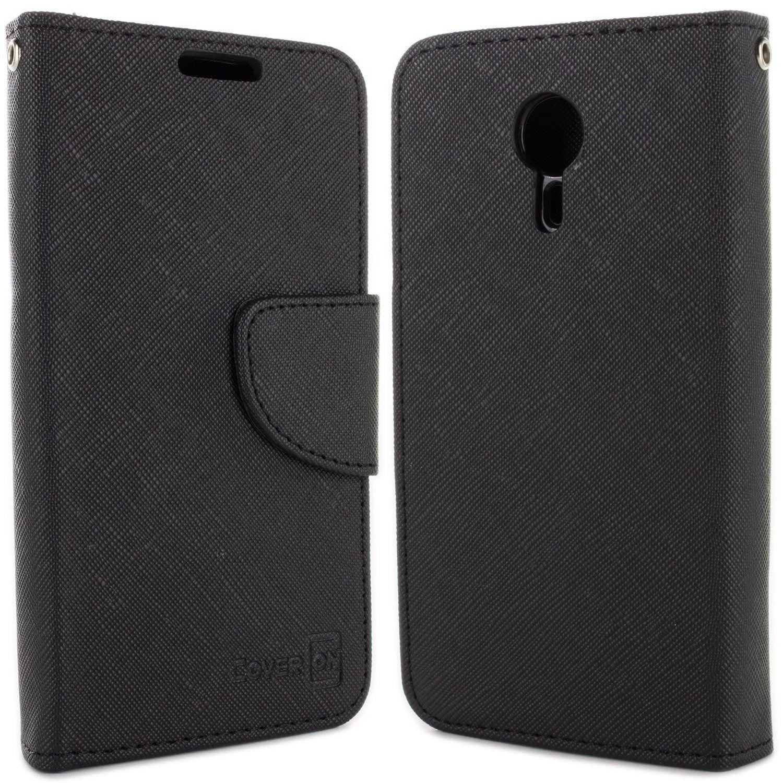 meet d64d2 534dc Amazon.com: ZTE N817 Case, ZTE Quest Wallet Case, CoverON® [CarryAll ...