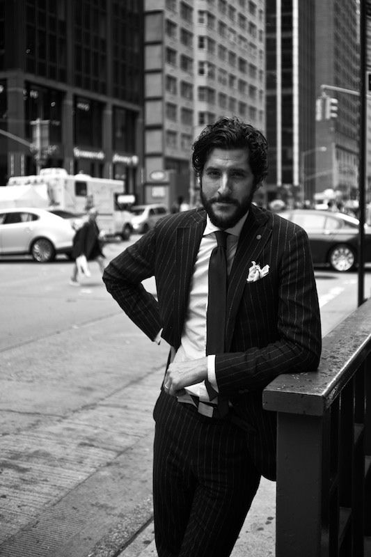 pure-evil:  ethandesu:  Antonio Ciongoli of Eidos Napoli in New York      (via TumbleOn)