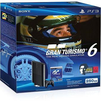 Console PlayStation 3 Slim 250GB Edição Bundle Gran Turismo 6 Especial Senna – Sony R$ 899,00 ou 12X de R$ 74,92 sem juros