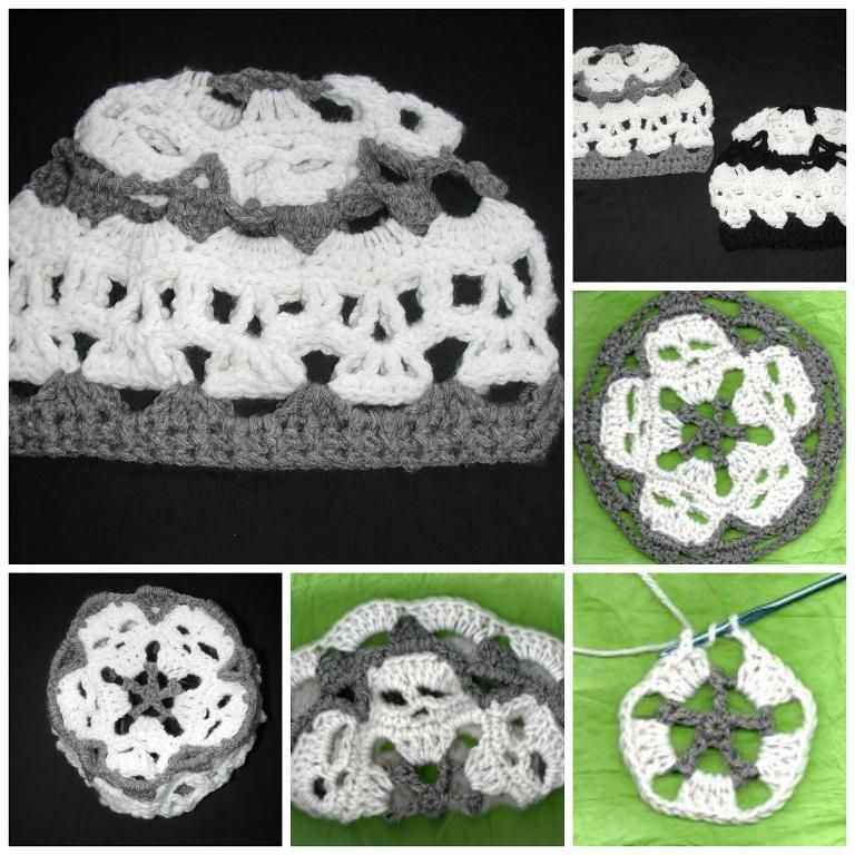 Creepy Skull Mandala Skull Hat | Mandalas, Patrones y Ganchillo