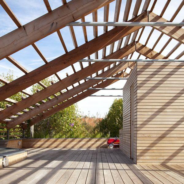 Toiture Terrasse Bois | Houses | Pinterest | Architecture, Pergolas