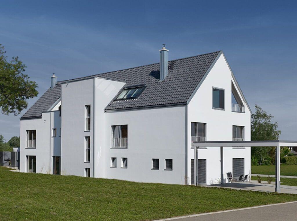 Mehrfamilienhaus mit Satteldach Haus Schindele von