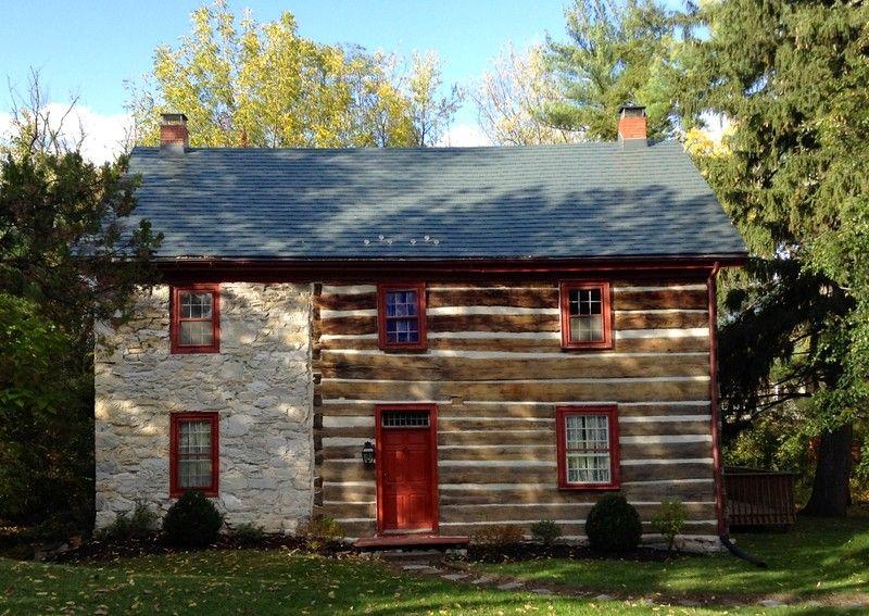 1769 log home john wormley house in camp