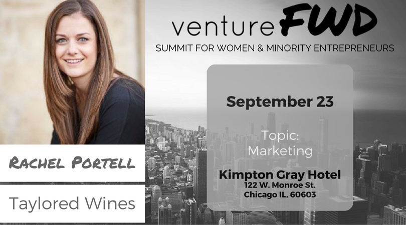 VentureFWD 2016 Chicago Speaker, Rachel Portell, Taylored Wines