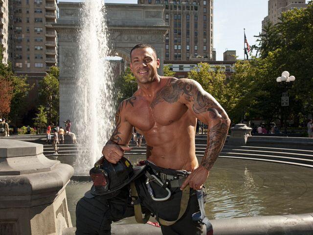 Mike Ayello Mr September Nyc Firefighters Calendar Hot Firemen