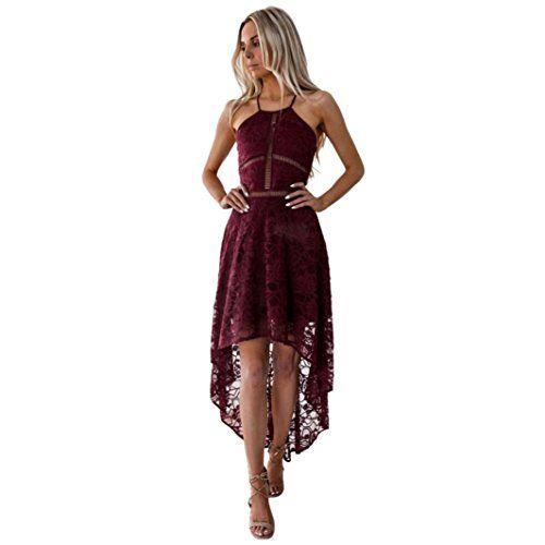 5e4d29128eb beautyjourney Robe Pull Femme Sexy Dos OuvertFemme Robe De Bal D Honneur  Sans Manches Robe