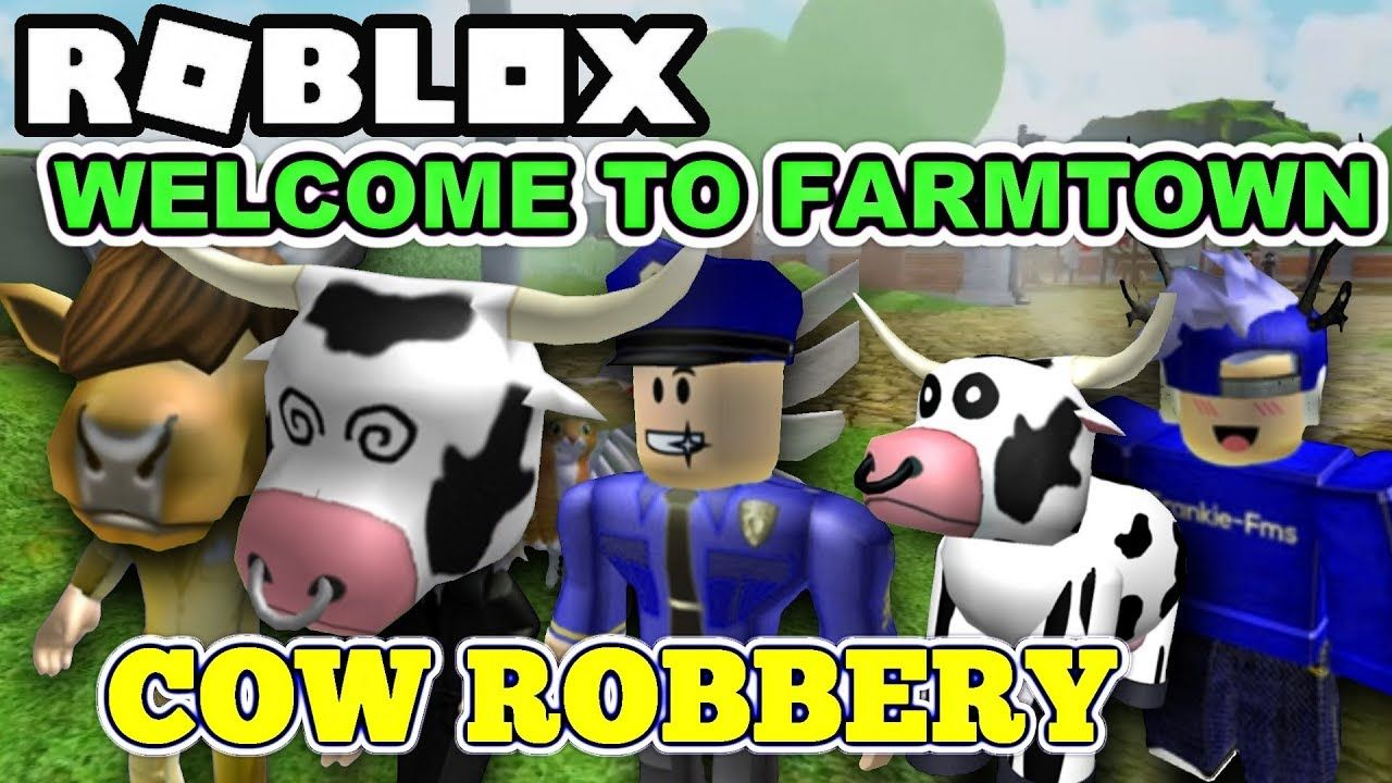 Roblox Welcome To Farmtown They Are Trolling Me And Trying To