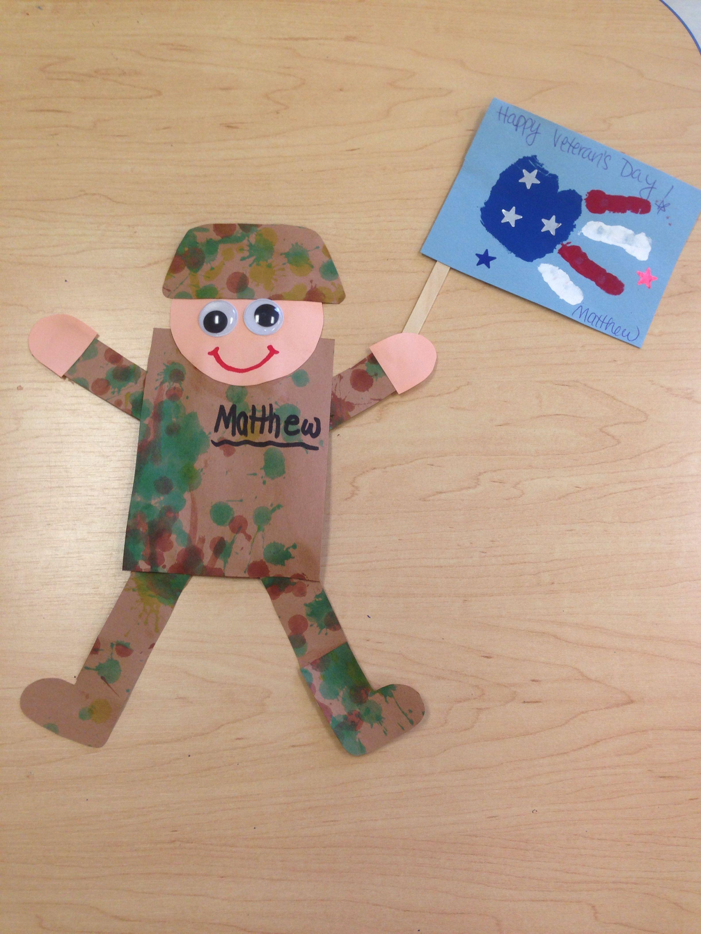 Veterans Day Preschool Project