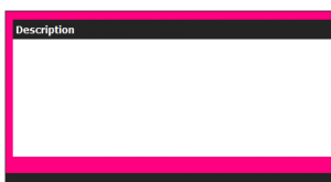 Simple Basic Plain Hot Pink and Black eBay Template ...