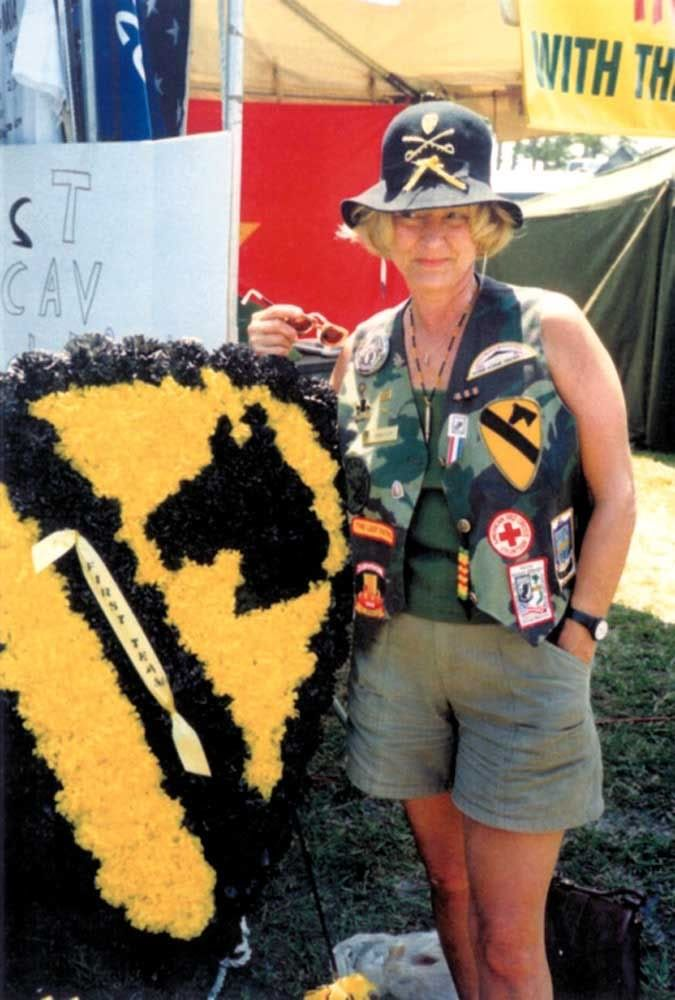 With the 1st Cav at the Annual Vietnam and All Veterans Reunion, Wickham Park, Florida, 2006. BobbyKeith6.jpg Photo by VIEWLINER | Photobucket