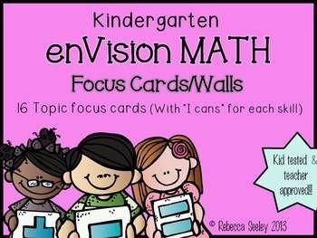 Kindergarten enVisions Math: Focus