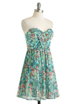 15c3b41f627fd3 Oceanic Dreaming Dress, #ModCloth Velvet Skirt, Retro Vintage Dresses, Mod  Dress,