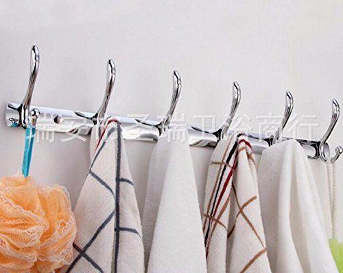 TAPCET Haken Kleiderhaken Wandhaken Wandgarderobe Garderobehaken