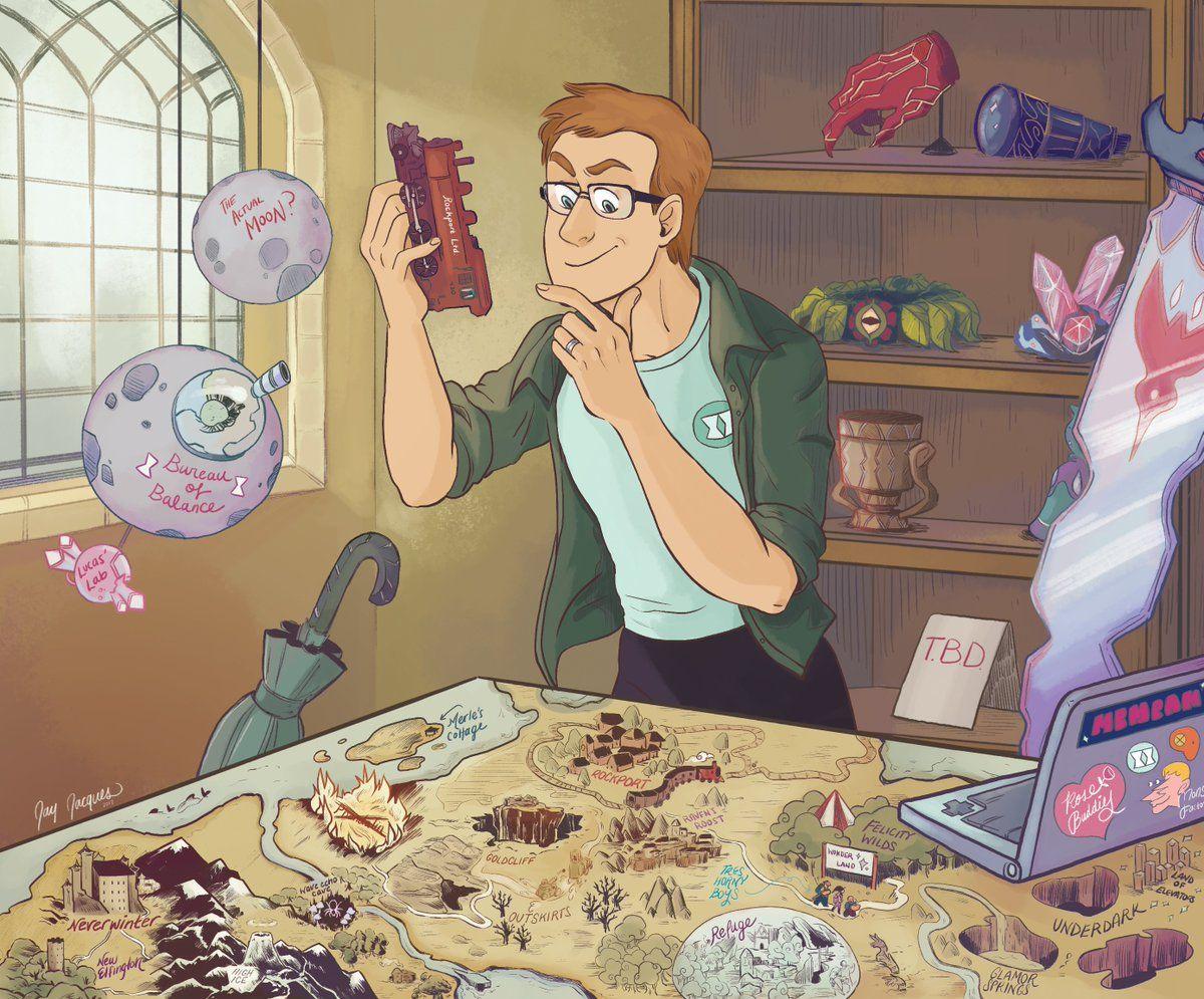 Austin Walker On Geekyness The Adventure Zone Fantasy