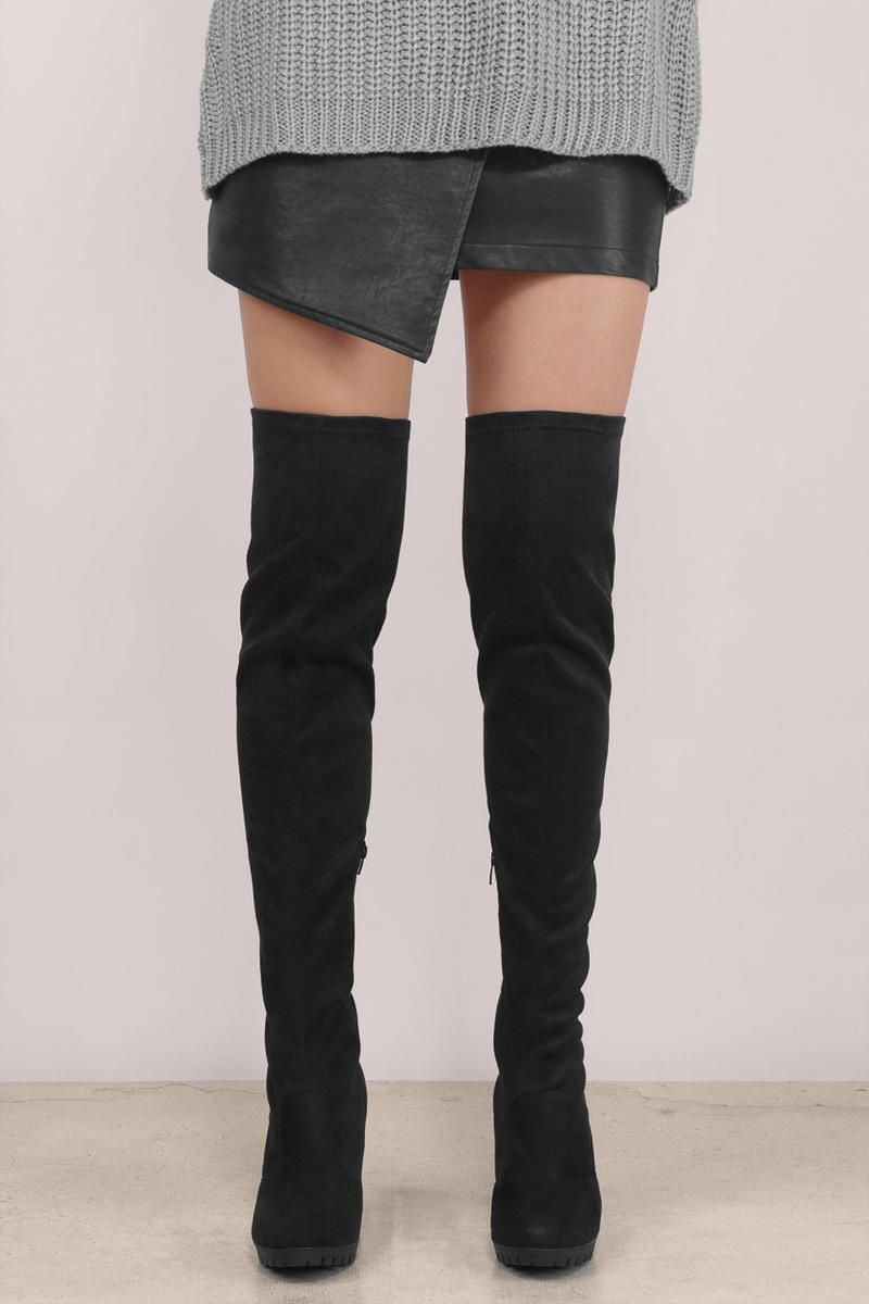 e0546047e66 Kimber Over The Knee Boots | Fashion // | Boots, Knee boots, Over ...