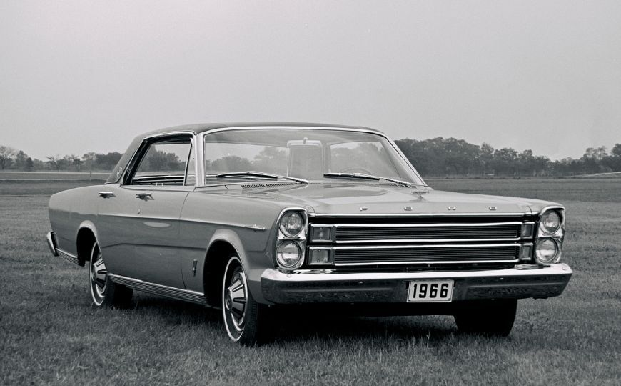 If you were a cop in late 1965, you might have been driving a new 1966 Ford LTD.