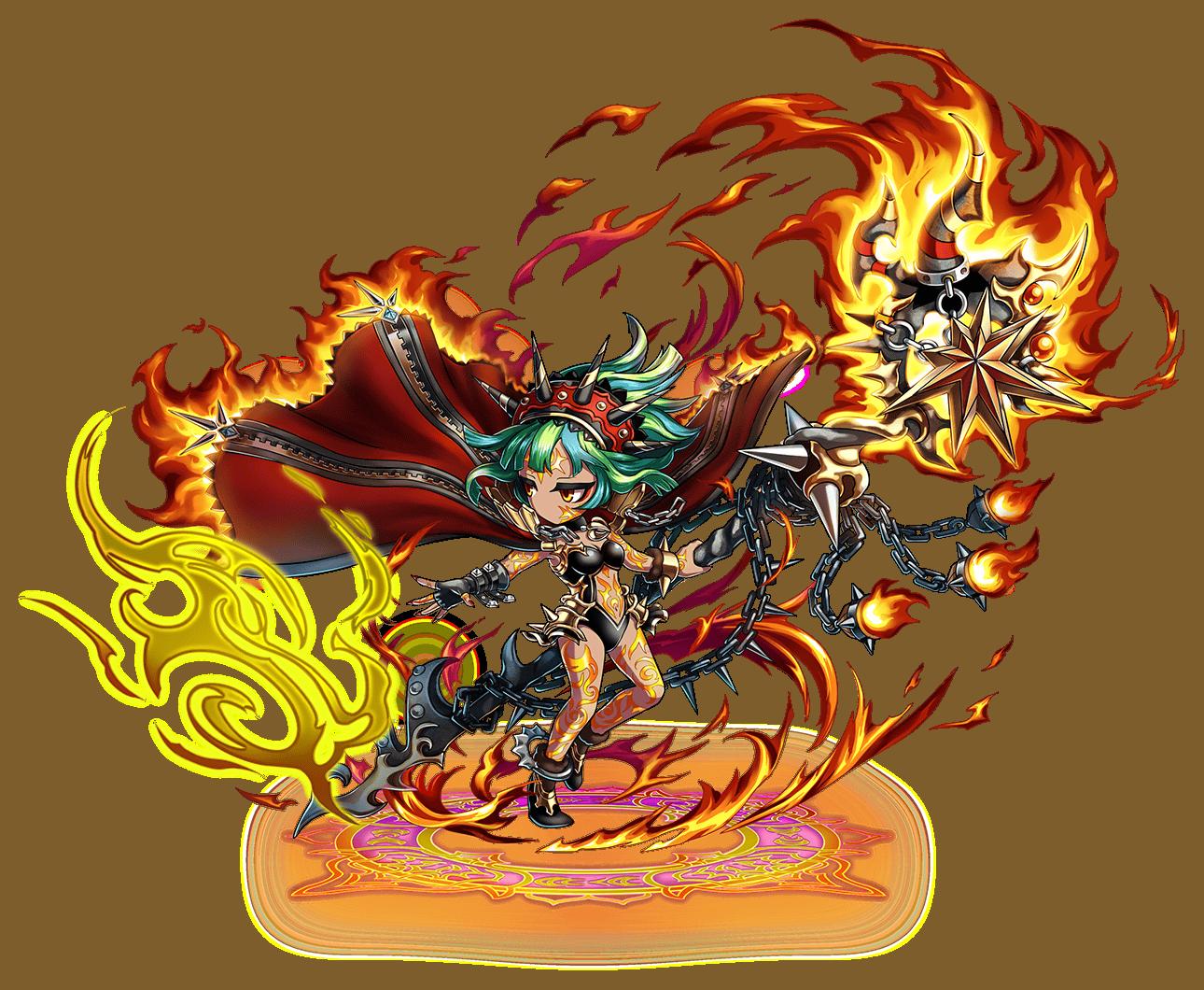 Garnet Sorceress Shelly
