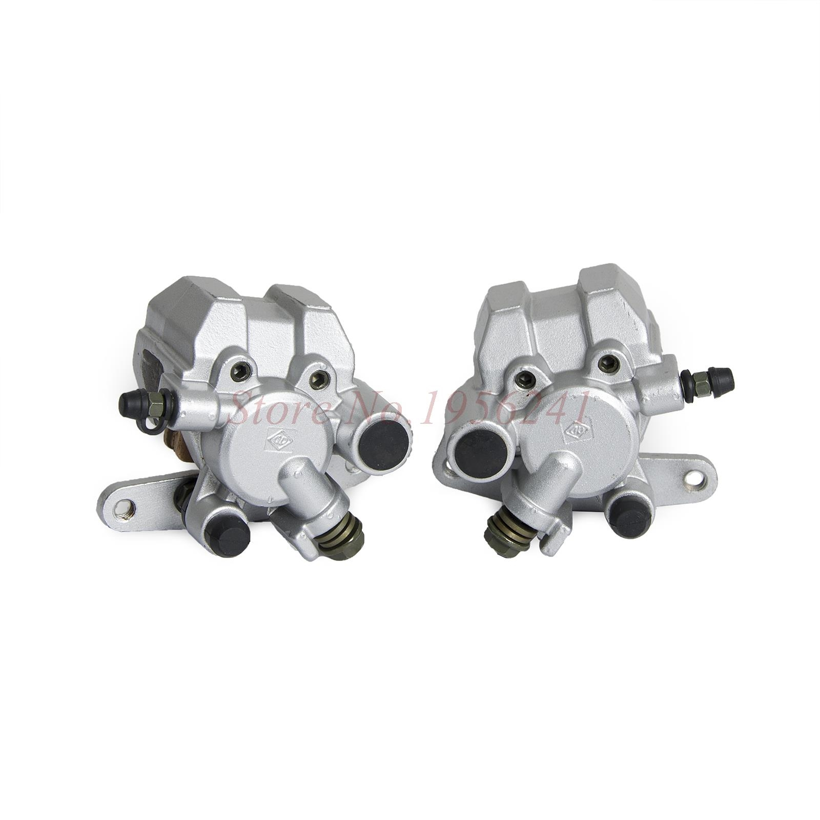 62.69$  Buy here - http://alinm9.shopchina.info/go.php?t=32678507691 - FRONT BRAKE CALIPER WITH BRAKE PADS FOR YAMAHA WARRIOR 350 1989-2004 1988 99 62.69$ #aliexpress