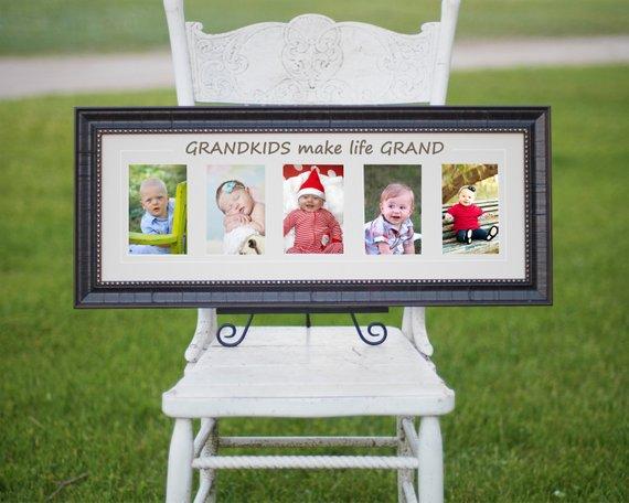 Grandkids make life Grand - Great Grandma Gift - Grandparents Gift