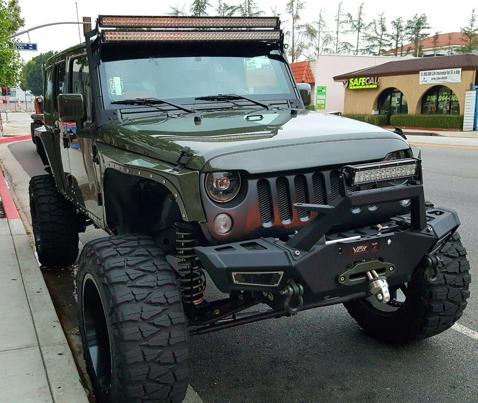 Badass Jeep Big Rigs Trucks Cars & Bikes Pinterest