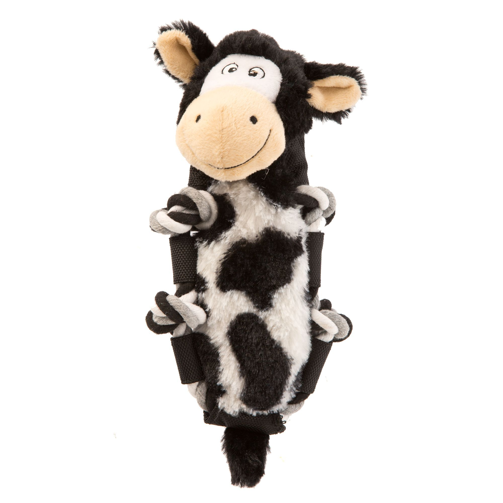Kong Barnyard Knots Cow Dog Toy Size Small Dog Toys Pet Spray