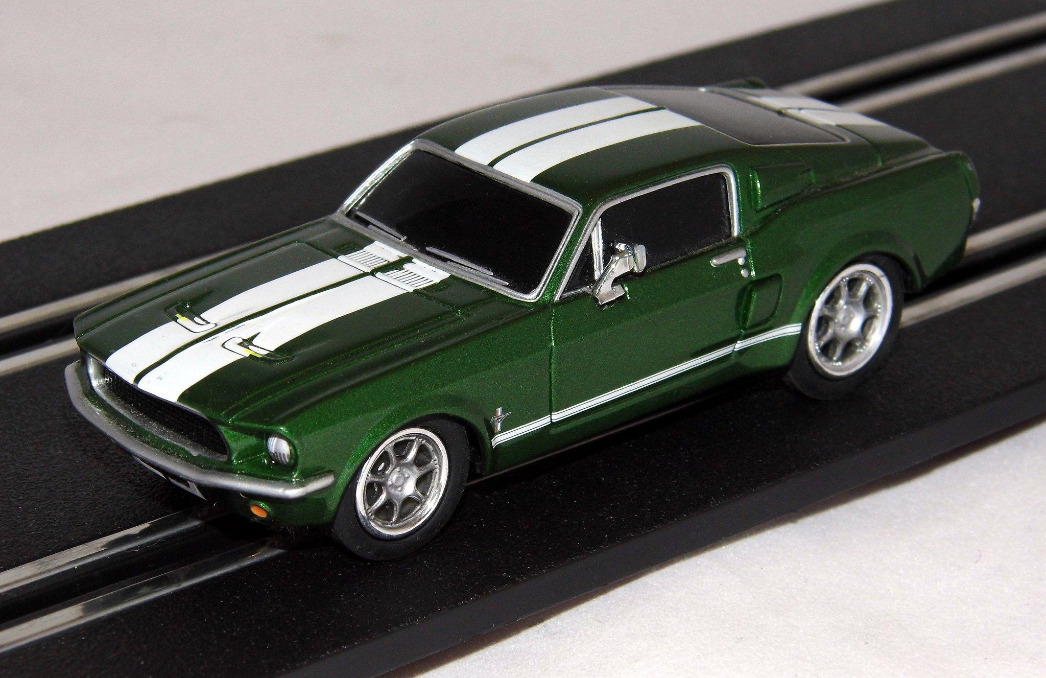 Ford Mustang Carrera Go Slot Car 1 43 Scale Slot Cars Ford Mustang Slot Car Racing